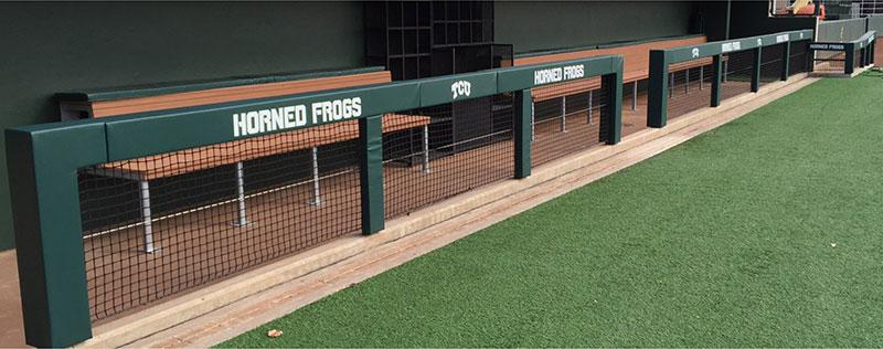 Baseball Dugout Bedroom Designs: Baseball Dugout Rail Padding